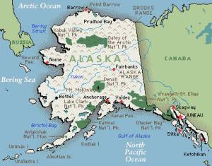 Alaska could hold the 21 smallest States.