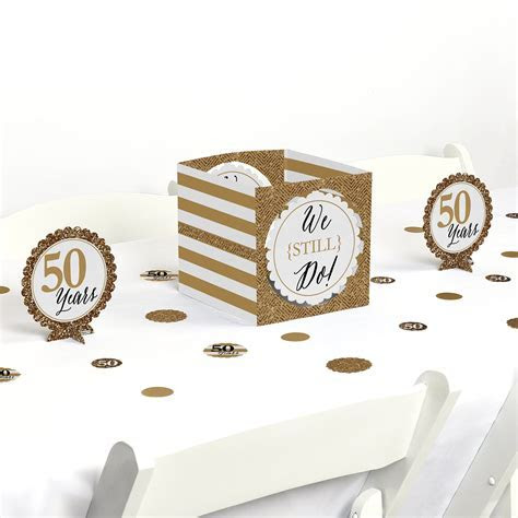 50th Anniversary Decorations and Supplies: Amazon.com