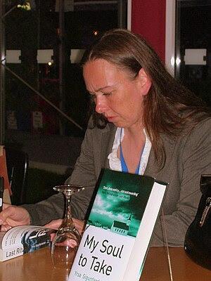 Yrsa Sigurðardóttir, author, at the Edinburgh ...