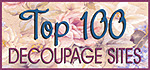 The Top 100 Decoupage Websites