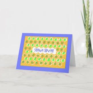 Rosh Hashanah Greeting Card card