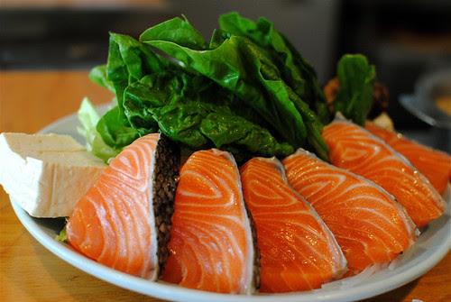 Salmon Shabu Shabu