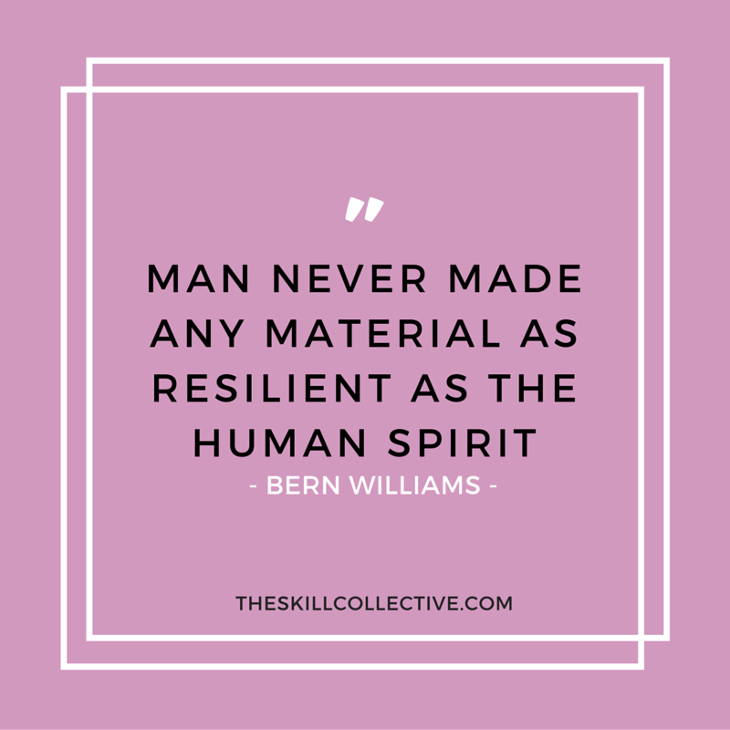 Quote Of The Day Man Never Made Any Material As Resilient As The