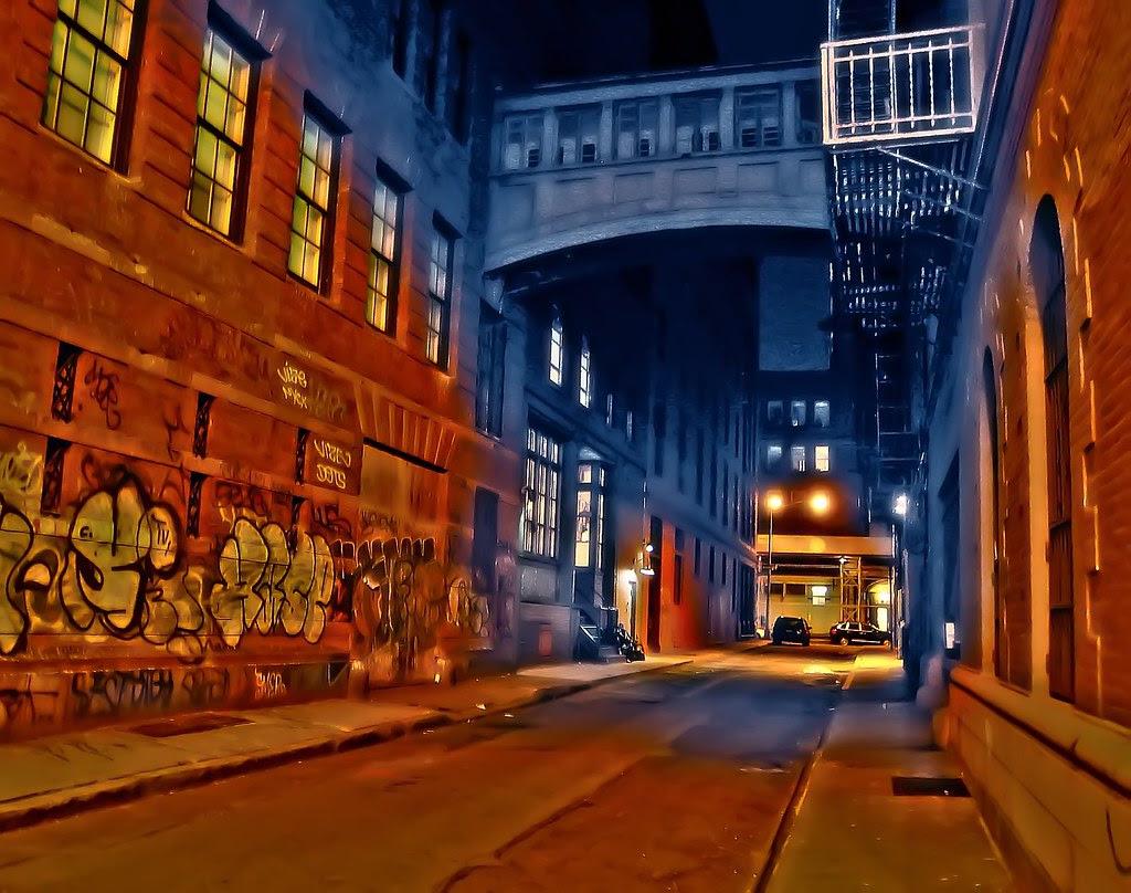 Night on Staple Street