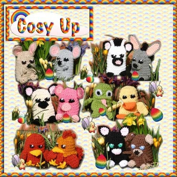 Egg Cosy Crochet Pattern pdf