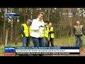 VIDEO Pădurea de la Peleș, îngrijită de studenți