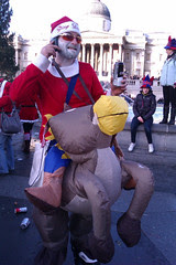 Santa on Reindeer