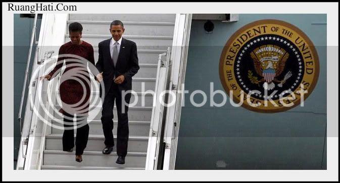 Obama Visit Jakarta Indonesia