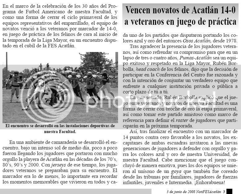 NotiFESA del 3 de junio de 2008, página 3
