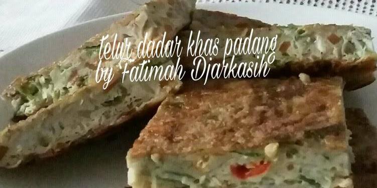 Resep Telur Dadar Khas Padang Oleh Fatimah Djarkasih