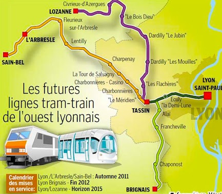 Plan tram-train