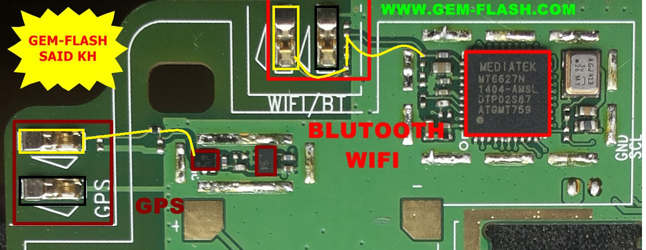 Huawei Y600-U20 Bluetooth IC Not working problem solution