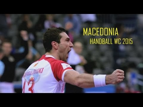 Clip - Makedonien Handball WM 2015 Vorrunde