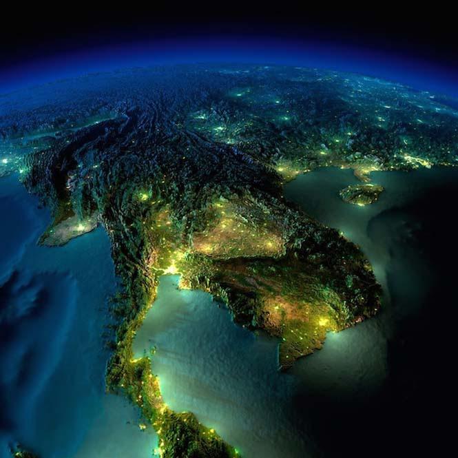 Εκπληκτικές νυχτερινές εικόνες της Γης (11)