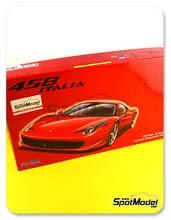 Kit 1/24 Fujimi - Ferrari 458 Italia - maqueta de plástico