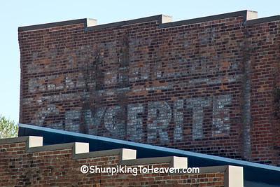 General Merchandise & Geyserite Soap Ghost Sign, Bonapart, Iowa