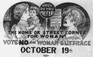 Vote On Womens Suffrage