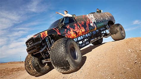 Video: 9.8 metre long monster truck storms into Guinness World Records 2017 book   Guinness