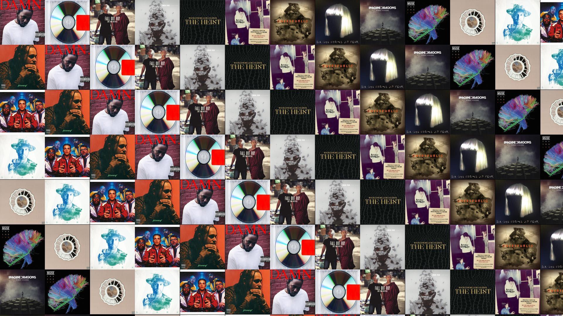 Kendrick Lamar Damn Kanye West Yeezus Fall Out Wallpaper Tiled