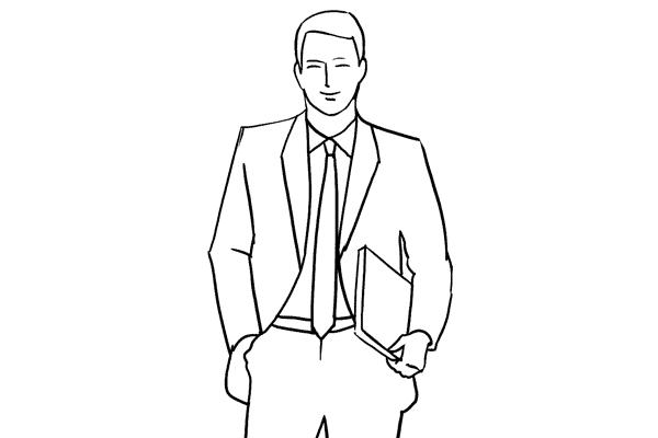 Позирование: позы для мужского портрета 9