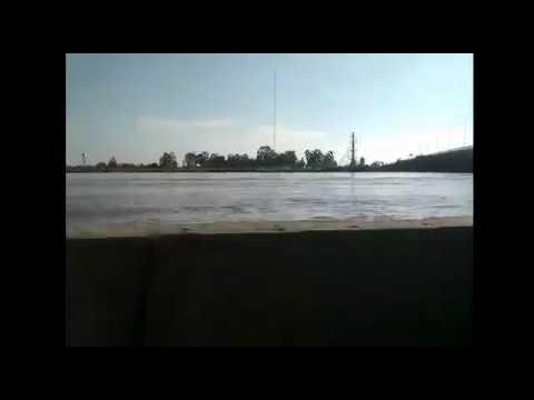 Así Se Inundaba El Camino A La Nueva Costanera En Argentina
