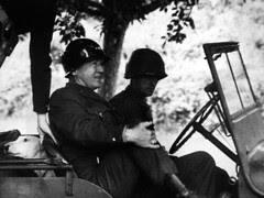 Lieutenant General George Patton, Jr. and Willie