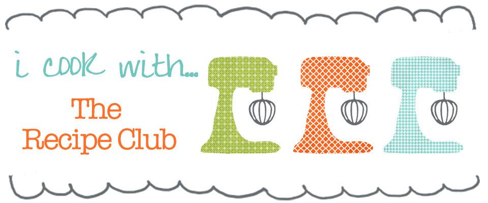 recipe club blog banner