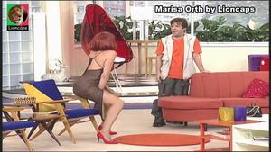 Marisa Orth sensual no Sai Baixo