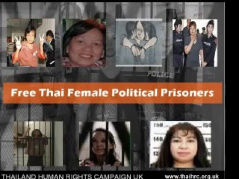 Stand with Thai Female Political Prisoners on International Women's Day 2016