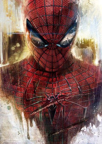 Promotional artwork for THE AMAZING SPIDER-MAN.