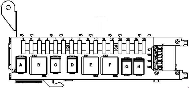 33 Mercedes Fuse Box Diagram
