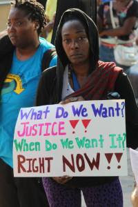 What Do We Want?  Photo by Callen Harty.
