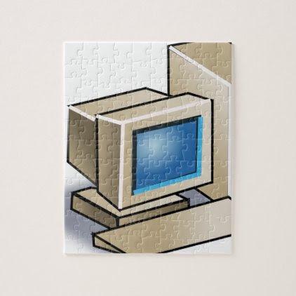 Retro Computer Jigsaw Puzzle