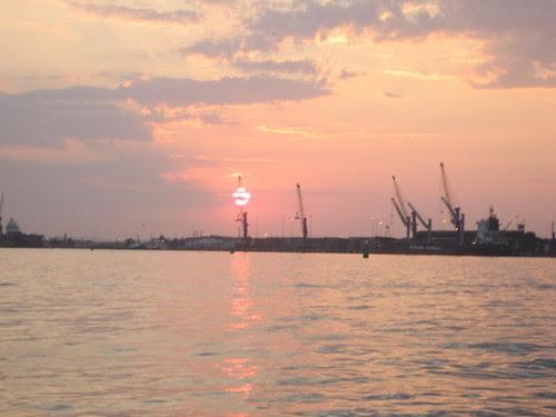 Walvis Bay sunrise