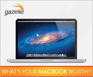 Trade-in your MacBook with Gazelle's 45-Day Price Lock Promotion!