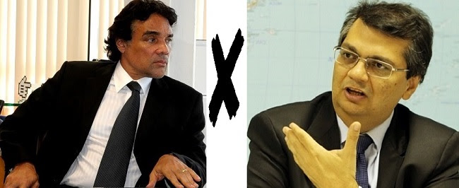 Candidatos ao Governo do Maranhão: Edinho Lobão e Flávio Dino