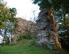 Замок Нялаб - килевидная башня 4