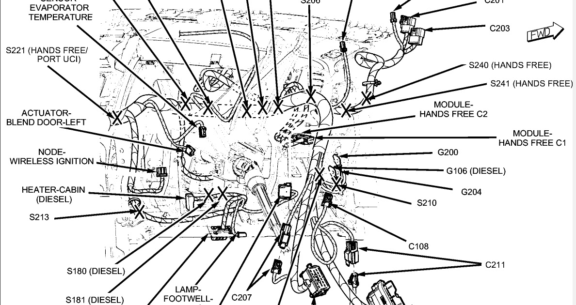 2009 Dodge Journey Cooling System Diagram