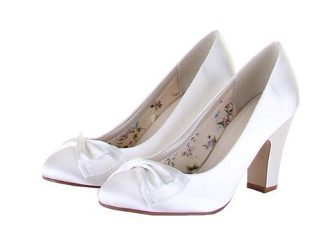 Rainbow Club Shoes Dinah   Dyeable Satin Wedding and