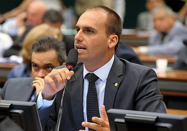 Eduardo Bolsonaro (Foto: Agência Câmara)