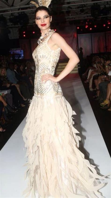 sue wong gatsby  deco beaded feather wedding bridal