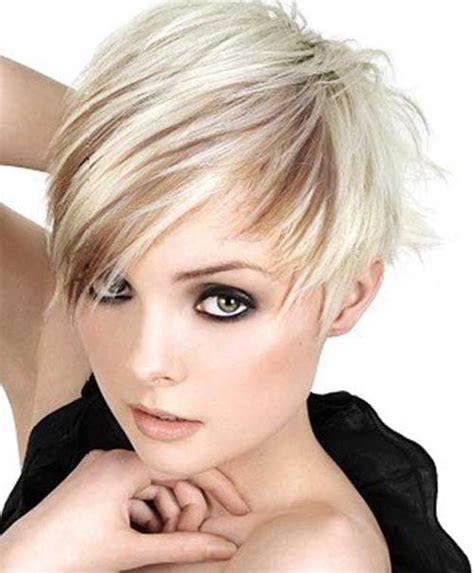trendy asymmetrical pixie cut short hairstyles