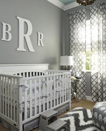 Dark Grey Crib