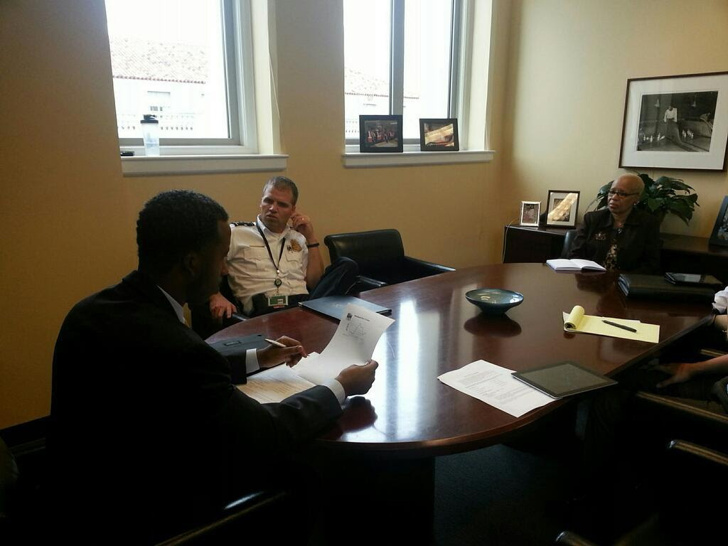 Meeting with MTPD