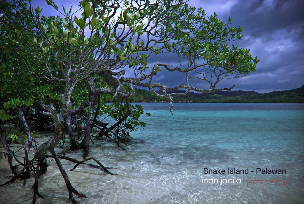 Snake Island of Palawan