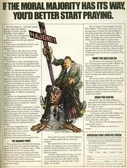 Sorel - ACLU Moral Majority - Playboy 8103
