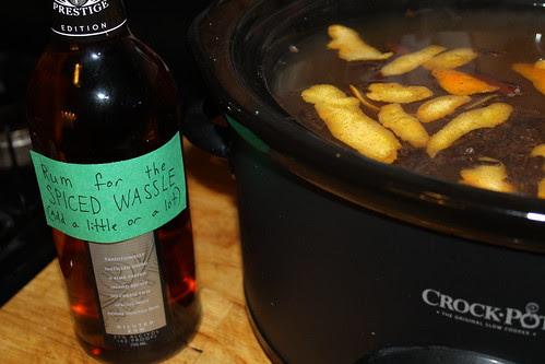 Spiced wassel recipe
