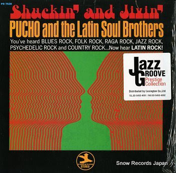 PUCHO AND THE LATIN SOUL BROTHERS shuckin' and jivin'