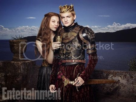 Joffrey Baratheon and Margaery Tyrell in Entertainment Weekly photo Margaery-Tyrell-King-Joffrey-Baratheon-Entertainment-Weekly-01_zpsb70cb30a.jpg