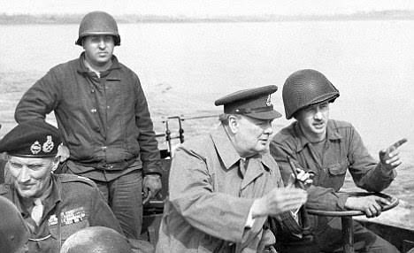 Band of Brothers: Churchill with American troops